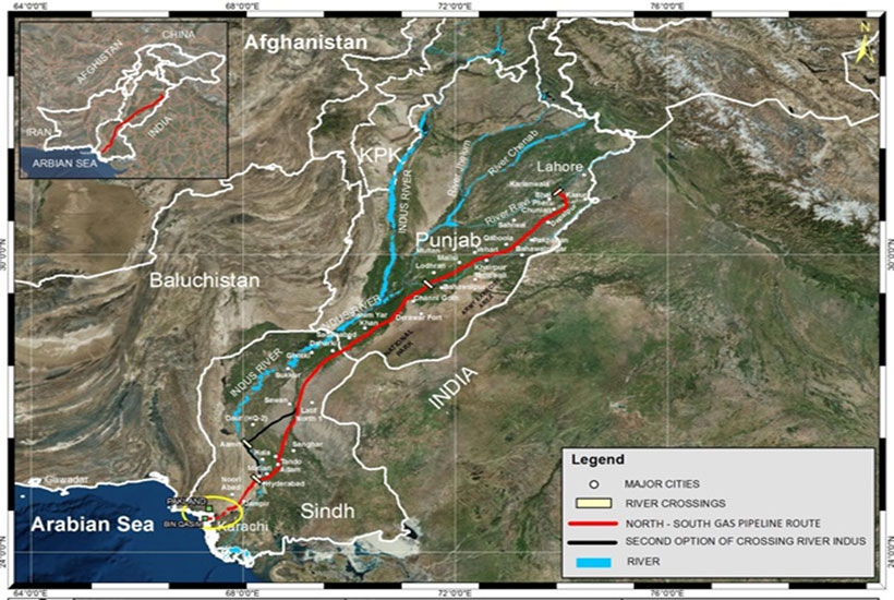 North – South Gas Pipeline Project (NSGP) – ISGS