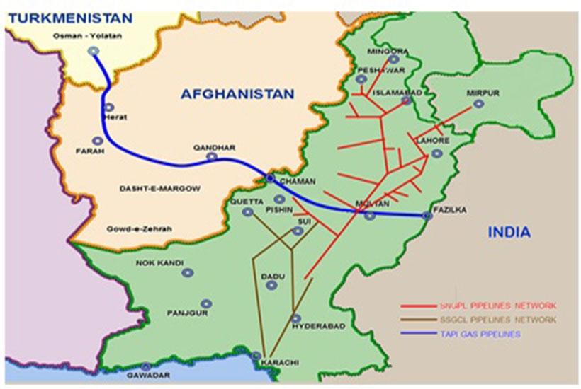 Turkmenistan – Afghanistan – Pakistan – India Gas Pipeline